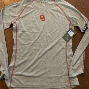 NWT Oklahoma University Long Sleeve Shirt